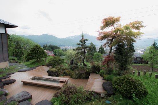 Minamiuonuma, Japan: 外には足湯もありました