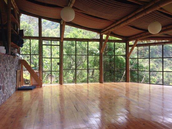 San Marcos La Laguna, Guatemala: Yoga studio