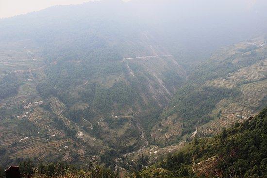 Munsyari, อินเดีย: View from Temple