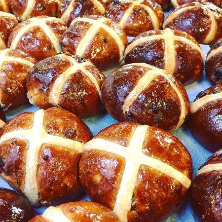 Corsham, UK: Hot Cross Buns