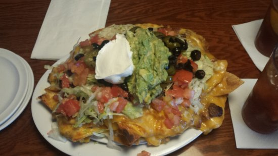 Carol Stream, IL: Steak Nachos - this is only a half order !