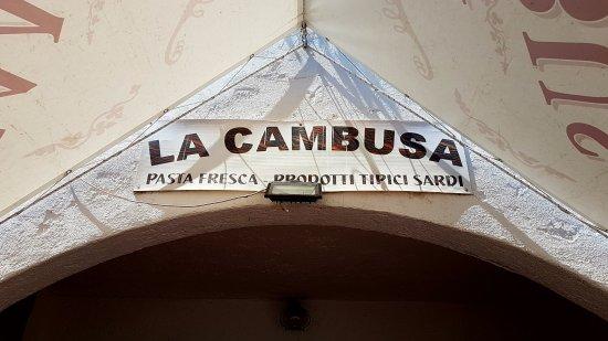 Ottiolu, Italien: La Cambusa !