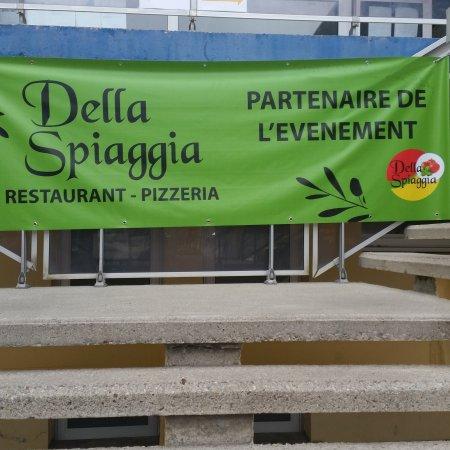 Morgat, Prancis: Bon vent au grand prix de l école navale avec la della spiaggia ! !!