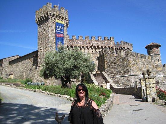 Calistoga, Καλιφόρνια: Entrance to the Castle