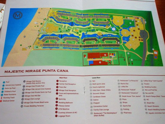 Map of resort - Picture of Majestic Mirage Punta Cana ... Map Of Punta Cana Shopping on map of dubai shopping, map of mazatlan shopping, map of beijing shopping, map of nashville shopping, map of bangkok shopping, map of riviera maya shopping, map of cozumel shopping, map of berlin shopping, map of freeport shopping,