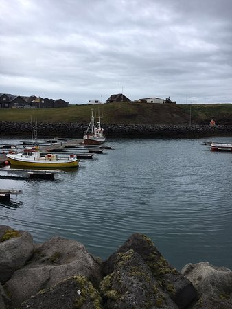 Keflavik, Island: The quaint, untouched harbour at Reykjanes.