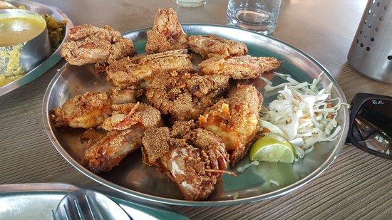 Anjuna, India: Anand Seafood