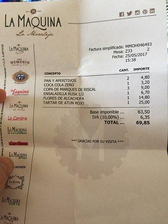 Alcobendas, España: La Máquina La Moraleja