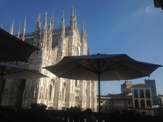 Vista Duomo Picture Of Terrazza Aperol Milan Tripadvisor