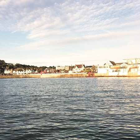 Pembroke, UK: Saundersfoot Harbour SUP view
