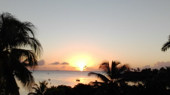 Maritim Resort & Spa Mauritius: Sunset - View from our room 375
