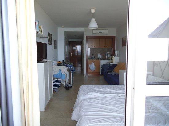 Apartamentos Roca Chica: genomen vanaf het balkon