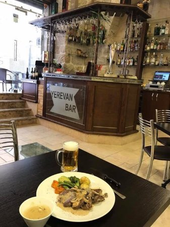 Yerevan restaurant: Beef fillet