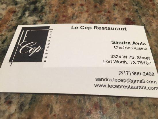 Le Cep Restaurant Photo