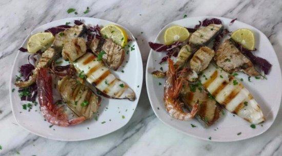 Oliveri, Italien: grigliate di pesce