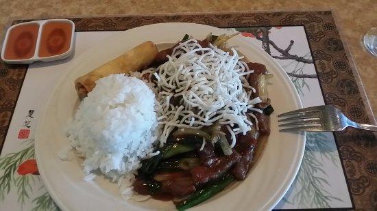 Shangri-la Restaurant: Mongolian Beef - Lunch Special