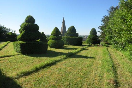 Cinq Mars la Pile, Frankrig: Encore une vue de cette magnifique terrasse qui surplombe le village de Cinq-Mars