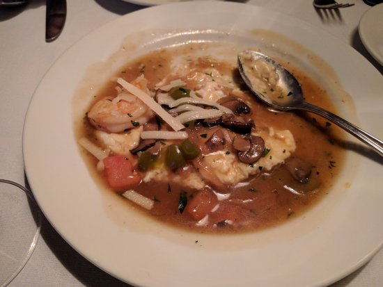 Jack Fry's: Shrimp and grits - we couldn't wait to dig in!