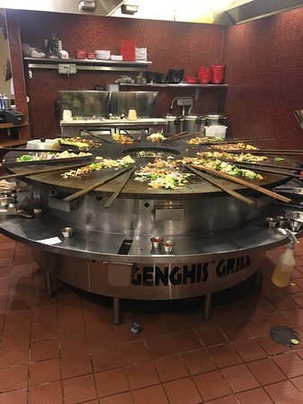 Gambrills, MD: Genghis Grill