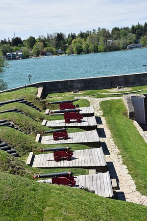 Youngstown, NY: batterie de petits canons