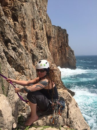 Budens, Portugal: Climbing