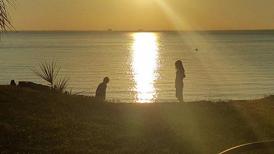 Gulf Breeze, FL: Sunset at the bay!