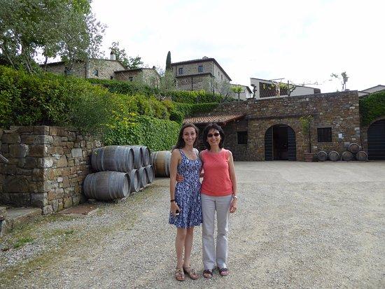 Radda in Chianti, Italy: Colle Bereto winery