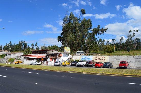 Atuntaqui, Ecuador: Fritadas Delicias de Imbabura