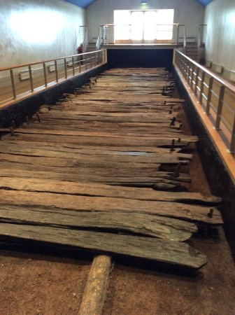 Keenagh, Irlanda: The preserved timber of the Corlea trackway