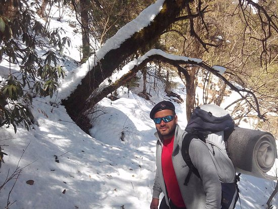 Uttarkashi, Индия: Dodital Winter trek