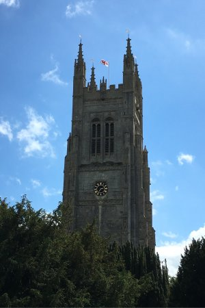 St Neots, UK: General views in the area.