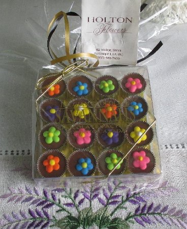 Port Hope, Canada: Chocolates.  One of the cute gifts they have for sale there.