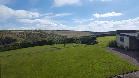 Hawkridge, UK: The view from are cottage