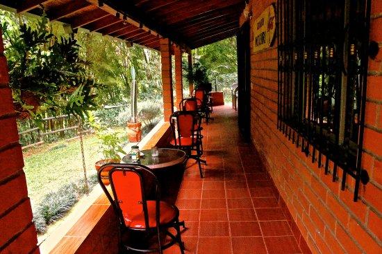 Sabaneta, Colombia: House corridor