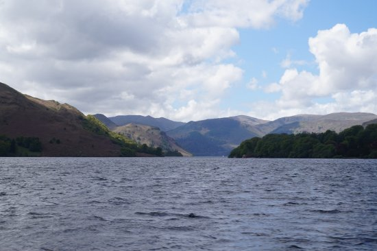 Glenridding, UK: View from Ullswater steamer