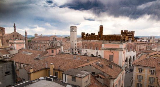 Dalla Terrazza Dell Hotel Roma Panorama Centro Di Piacenza
