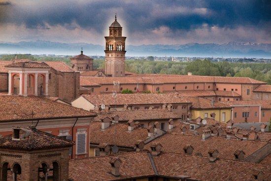 Dalla Terrazza Dell Hotel Roma Panorami Piacenza Con
