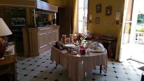 Chateau de Sissi: Buffet