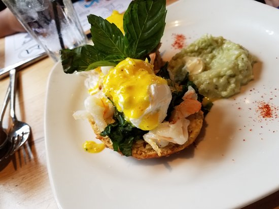 Southlake, TX: Thai Eggs Benedict -- Wife approved.