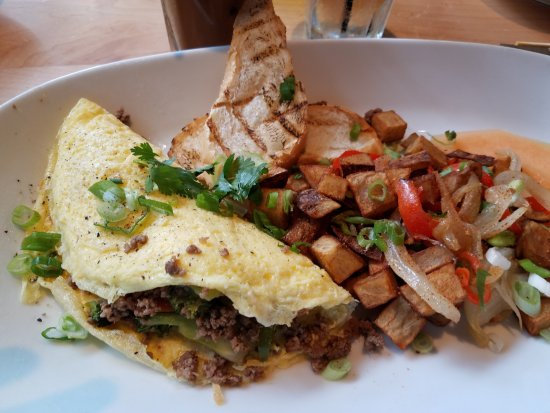 Southlake, TX: Thai Omelette -- Needed a little something to kick it up a notch.