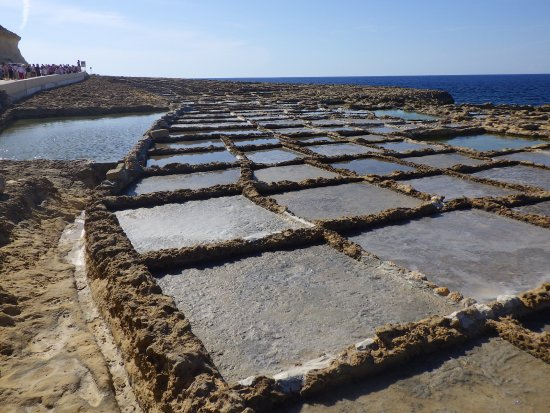 Zebbug, مالطا: Gozo_Xwenji salt pans