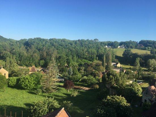 Carlux, Frankrig: Vue de la chambre