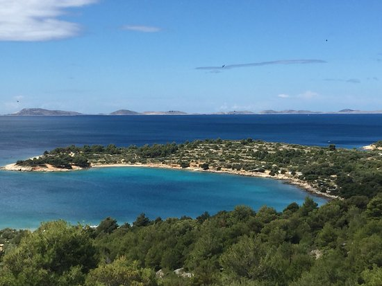 Murter, Croácia: The shades of blue to die for