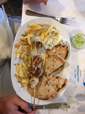 Taverna Roza : Delicious from start to finish - an absolute must in Santorini