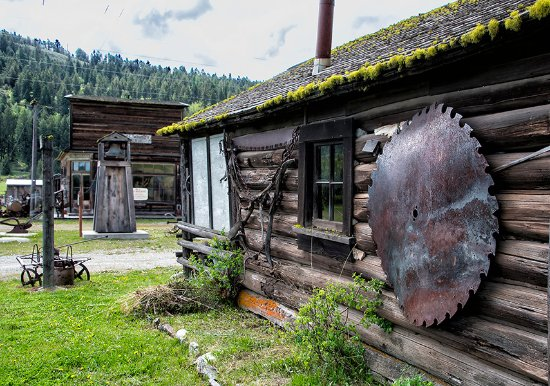 Oroville, WA: THe ghost town museum at Molson, WA, near Osoyoos, BC © Photos by Pharos 2017