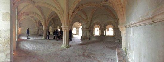 Montbard, Frankreich: Gemeinschaftsraum (Kapitelsaal)