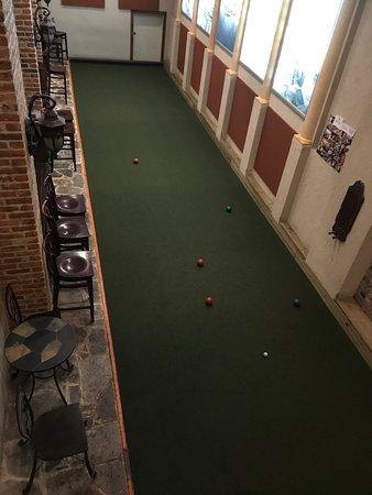Indoor bocce court - Picture of La Scala, Baltimore - TripAdvisor