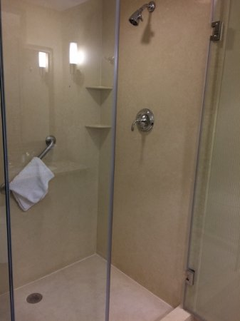 Frontenac, MO: Tower room shower - large and spacious
