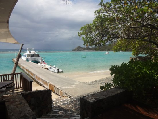 Caneel Bay, St. John: Day trip from Cruz Bay to BVI (at former sister resort of Little Dix Bay, Virgin Gorda for lunch