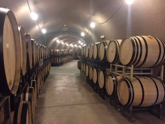 Angwin, Kalifornien: The Wine Cave